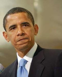 Despite his pensive look Pres. Obama moves forward in ME/CFS...