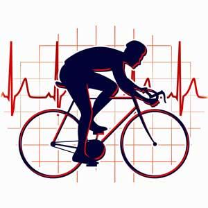 EKG test bicycle