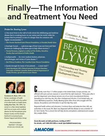 book on Lyme disease