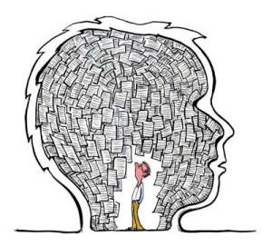 cartoon of brain