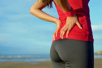 low back pain runner