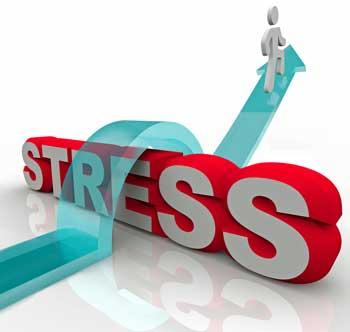 jump over stress