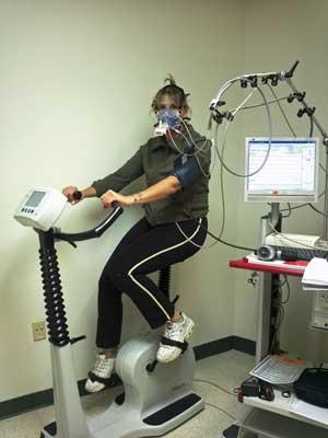 Francesca- exercise testing