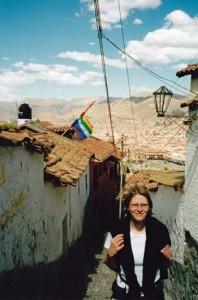 Anne in Cuzco, Peru - pre ME/CFS