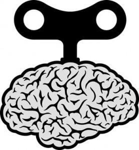 wound up brain