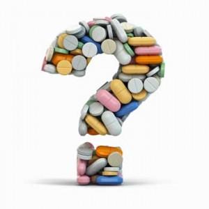 Pill-question-mark