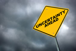 uncertainty sign
