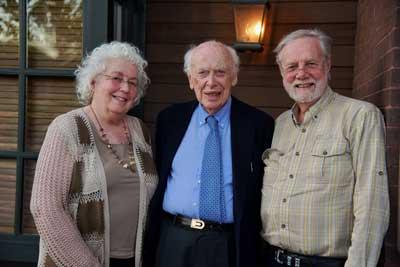 James Watson, Janet Dafoe and Ron Davis